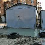Постройка и сборка гаражей, бабушкин гараж, дзмо, гараж из листов металла и профнастила