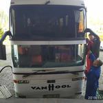 Замена,установка лобовых стекол на автобусы