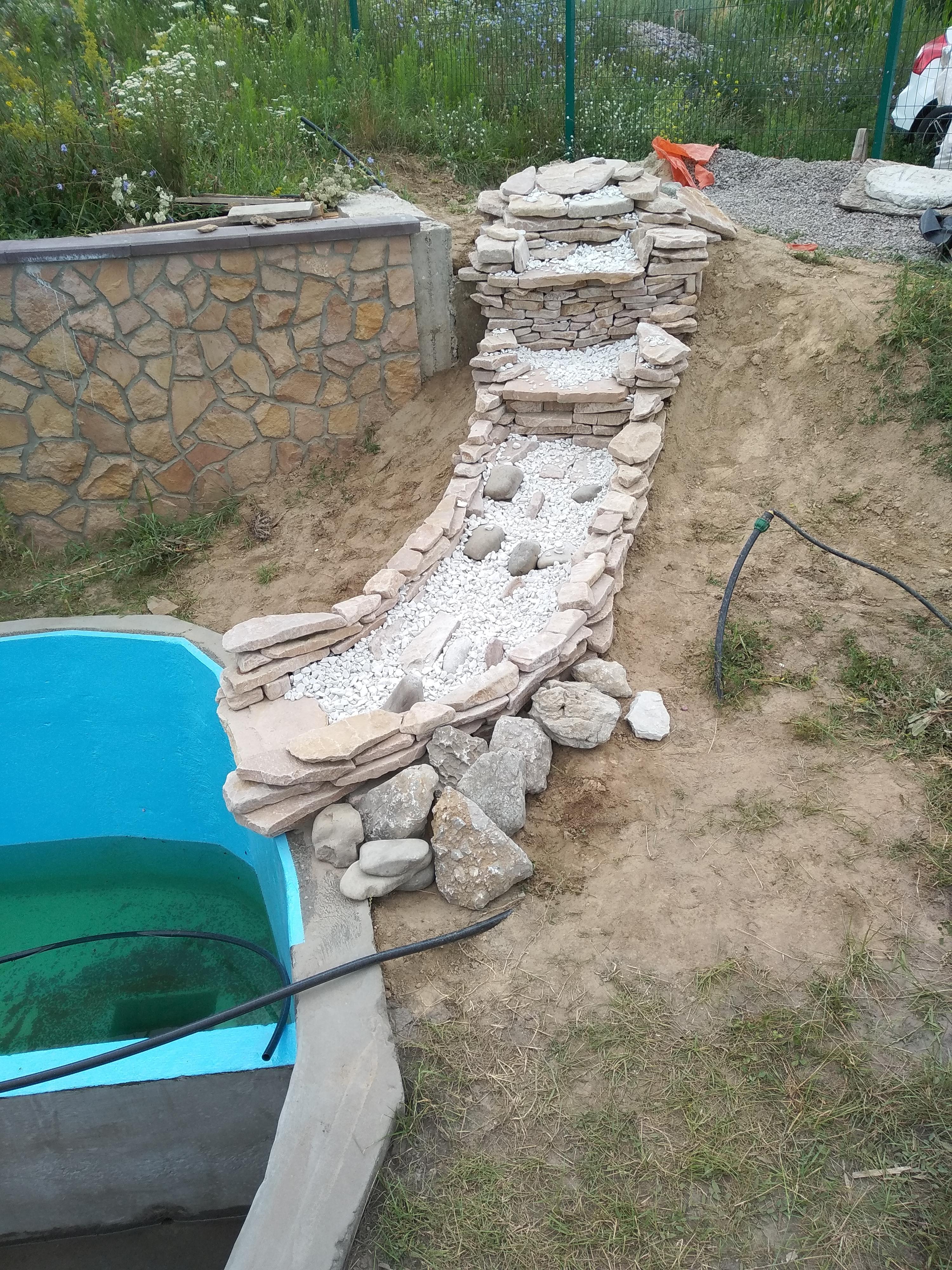 Фото Водопад на даче