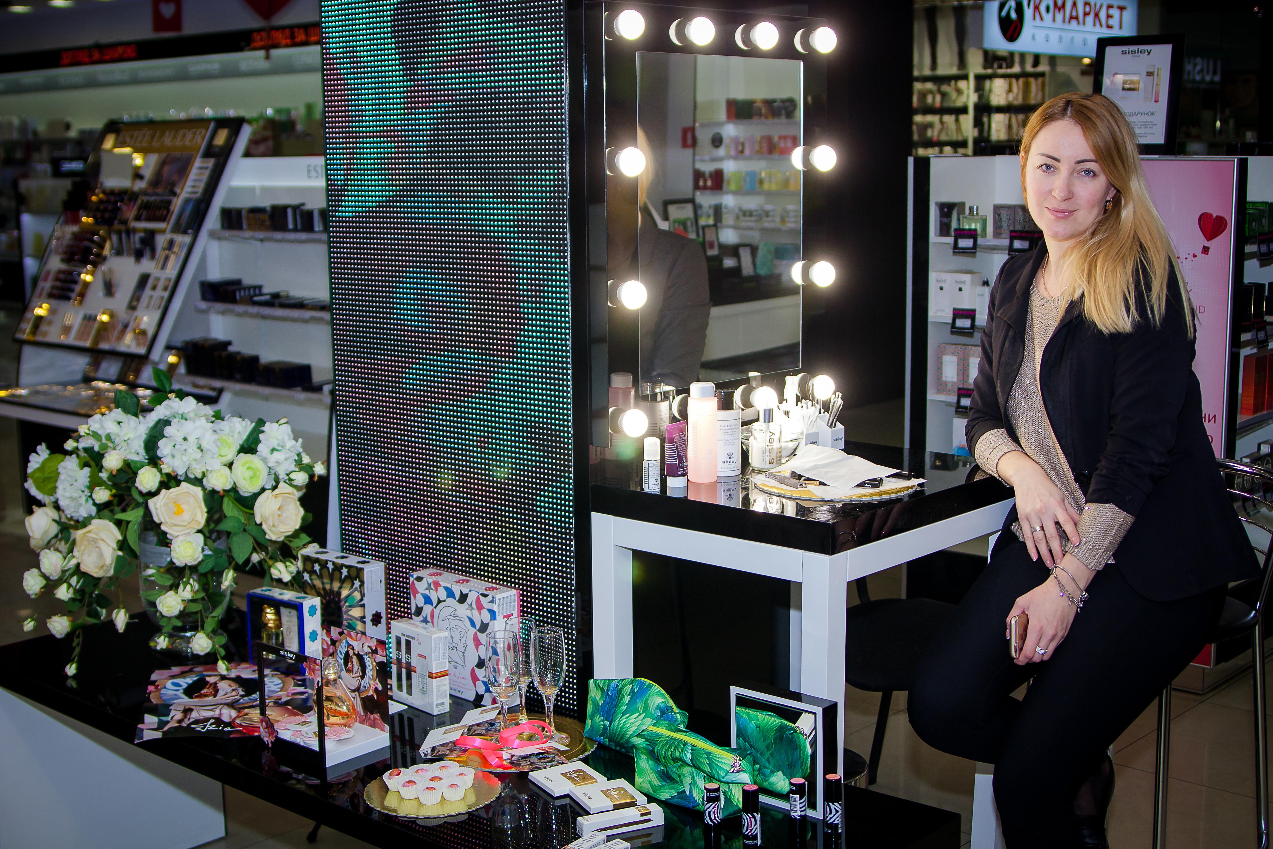 Фото Фото отчет о работе магазина косметики