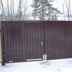 Ворота и заборы (профнастил, металл, сетка)
