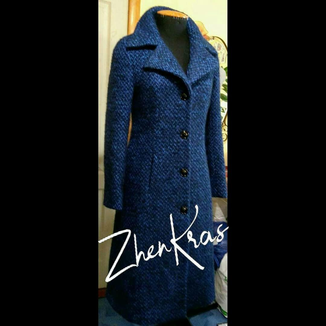 Фото Пошила пальто из шерсти для очаровательной Ольги!