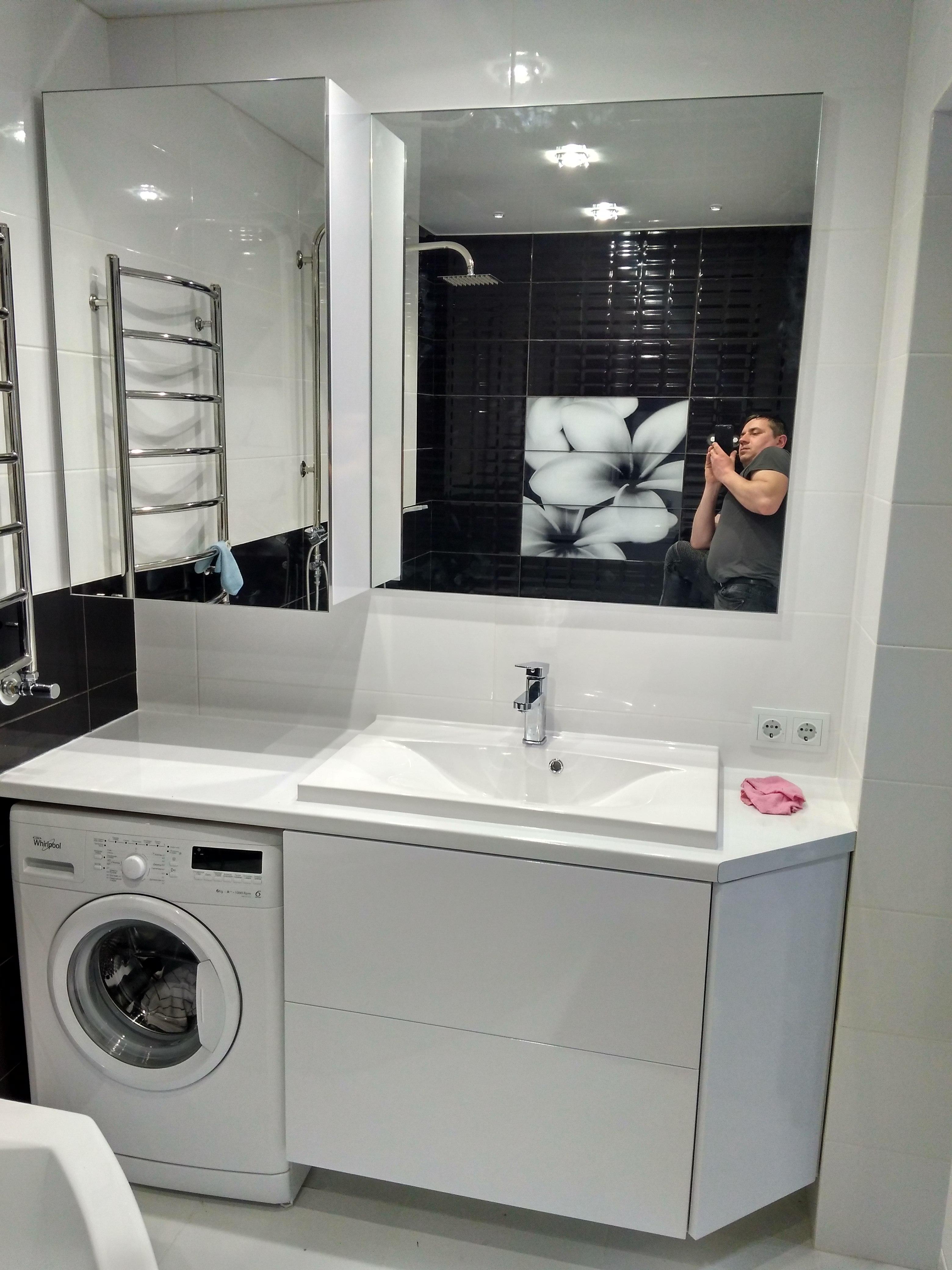 Фото Мебель в ванную комнату. 1