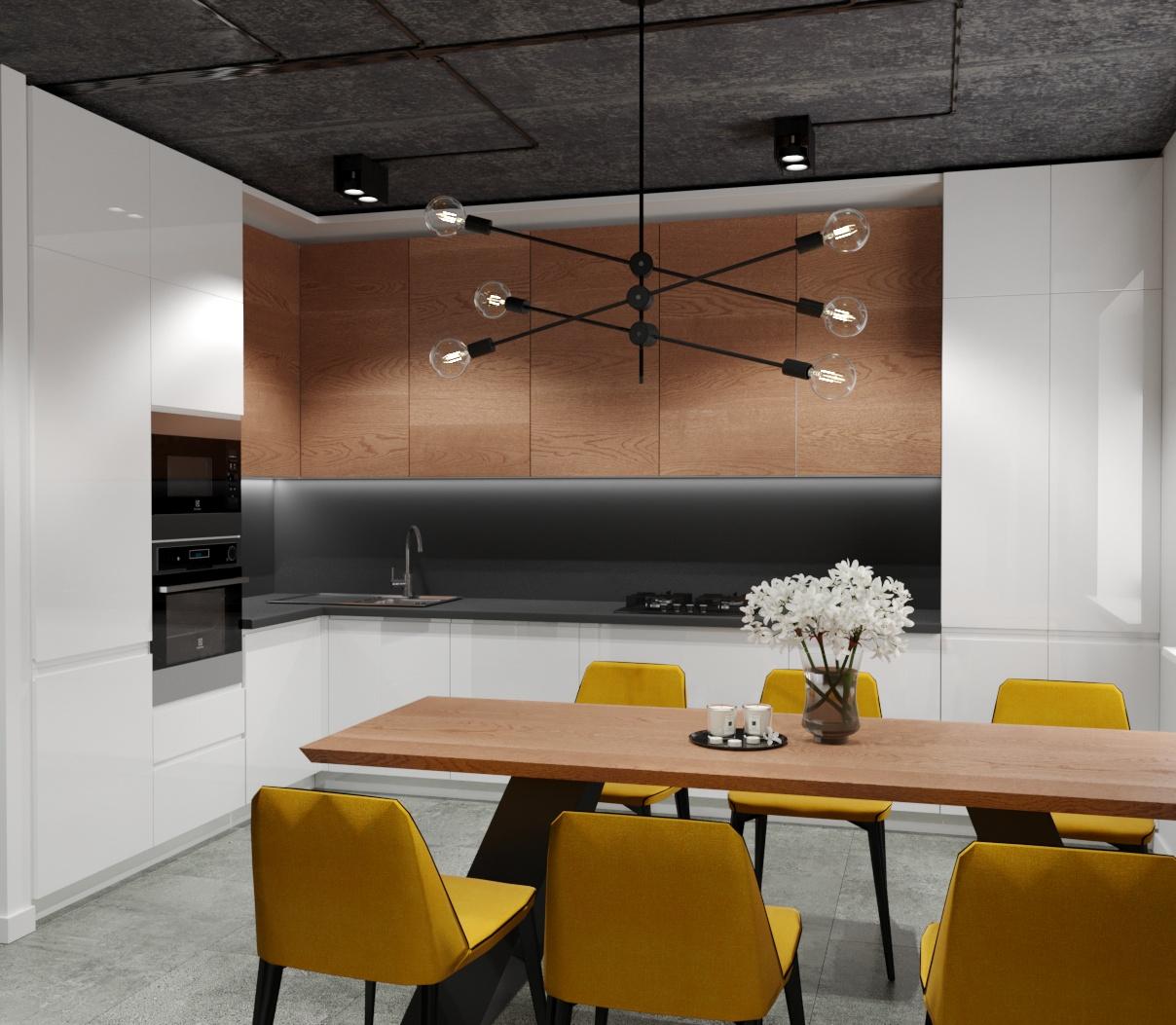 Фото Пропоную послуги 3d візуалізації кухні 1