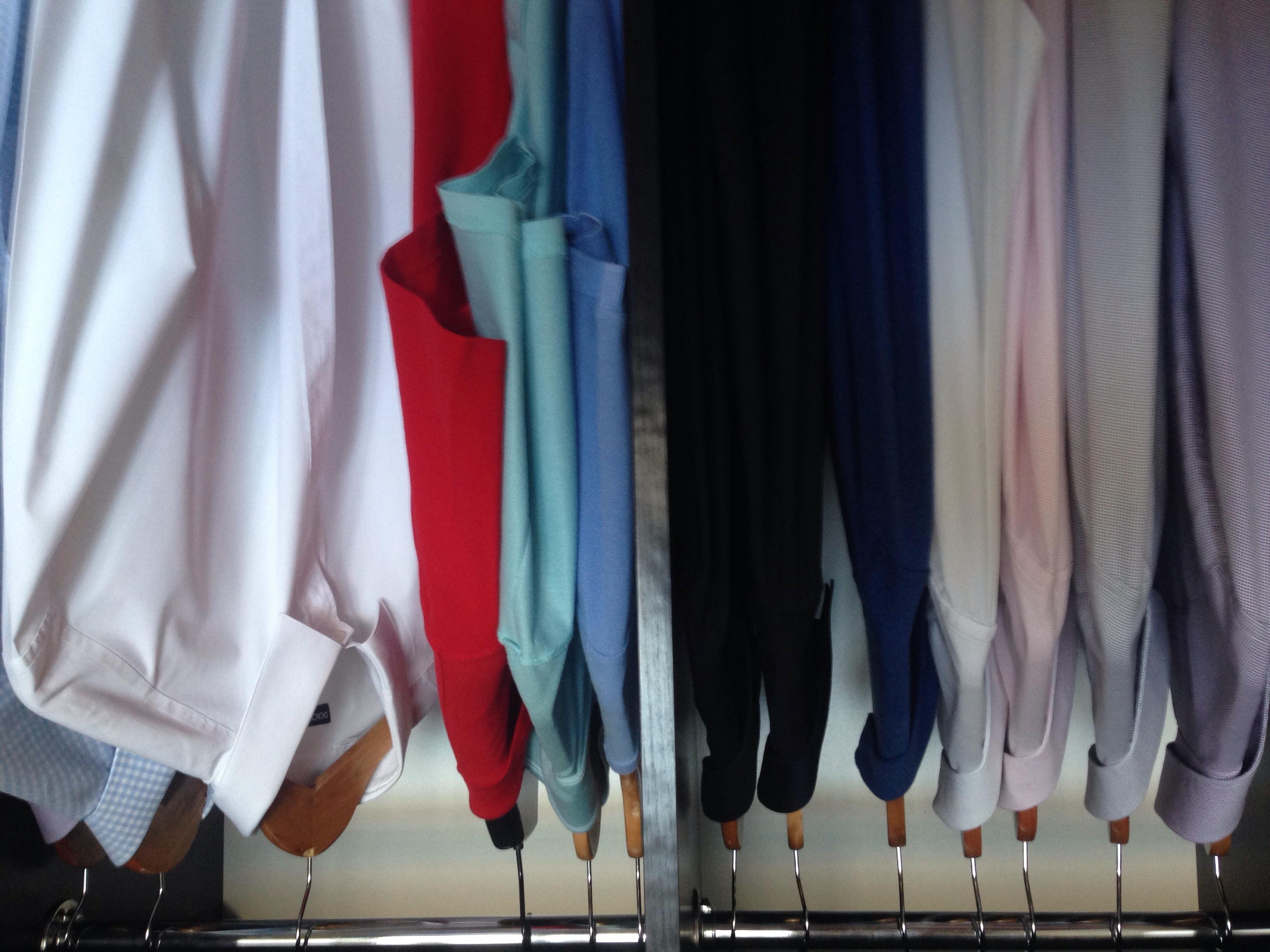 Фото Глажка рубашек
