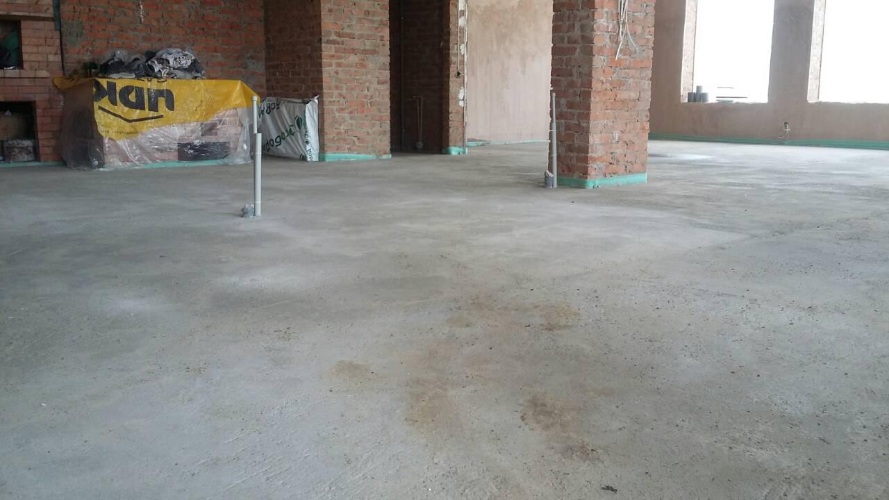 Фото Стяжка чистовая.Общая площадь 100кв. метров.Срок выполнения под ключ-2дня.