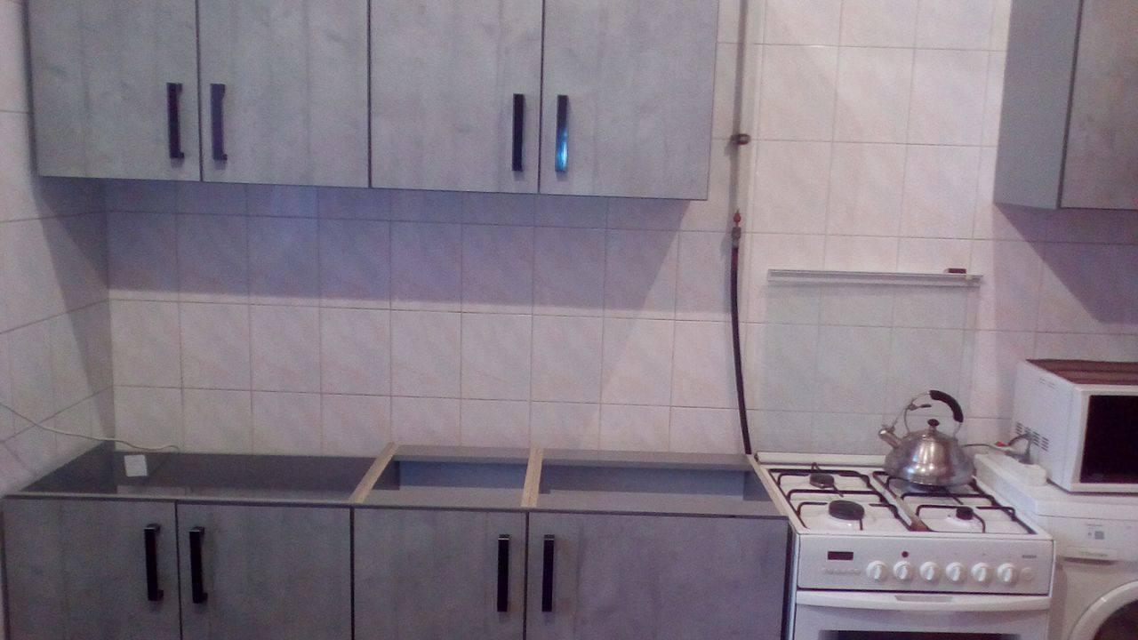 Фото Сборка,установка кухни , порезка и присадка Кронос . Собрал и установил за 2 дня