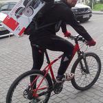 Доставка на велосипедах!
