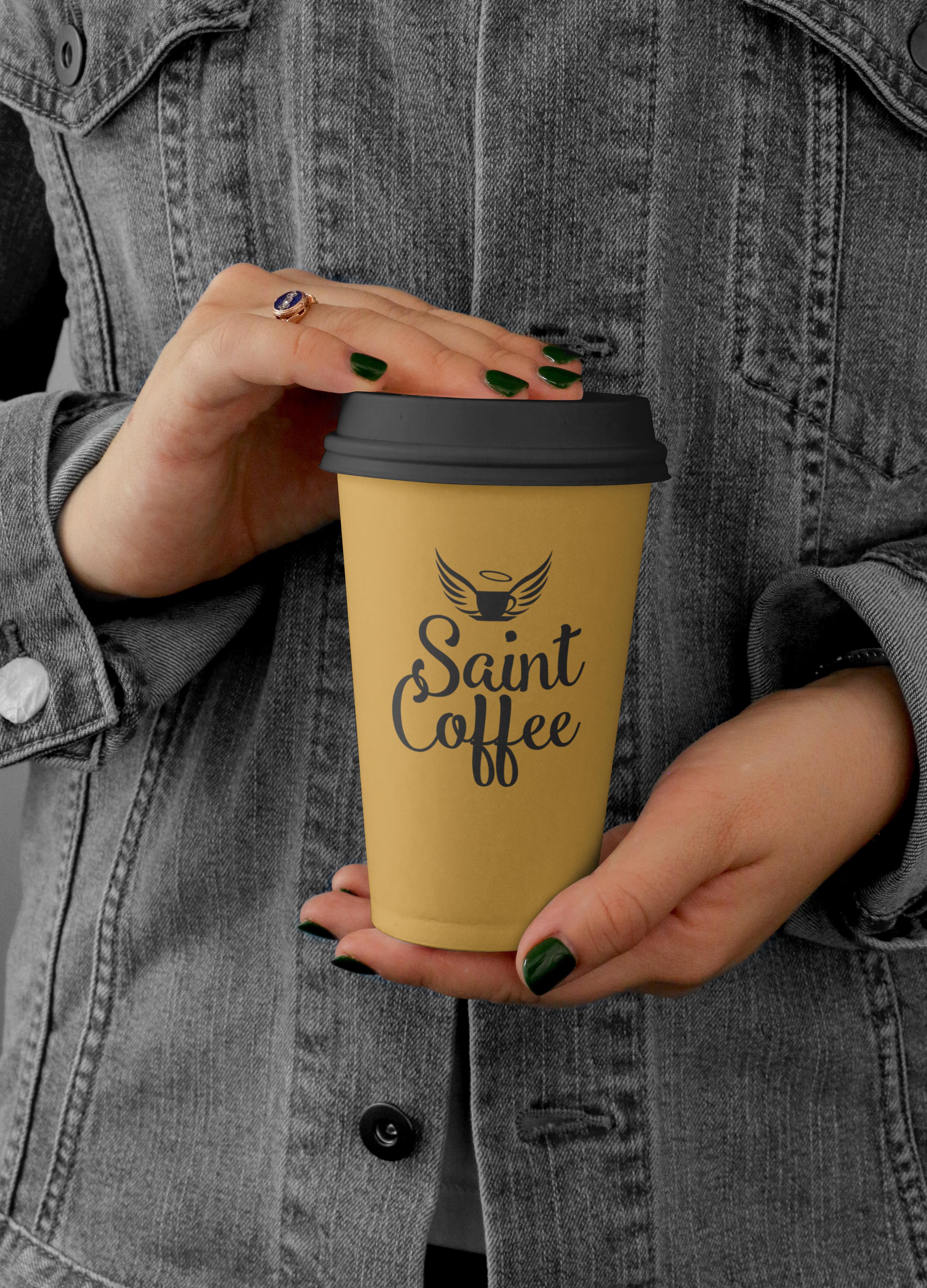 Фото Логотип для кофейни