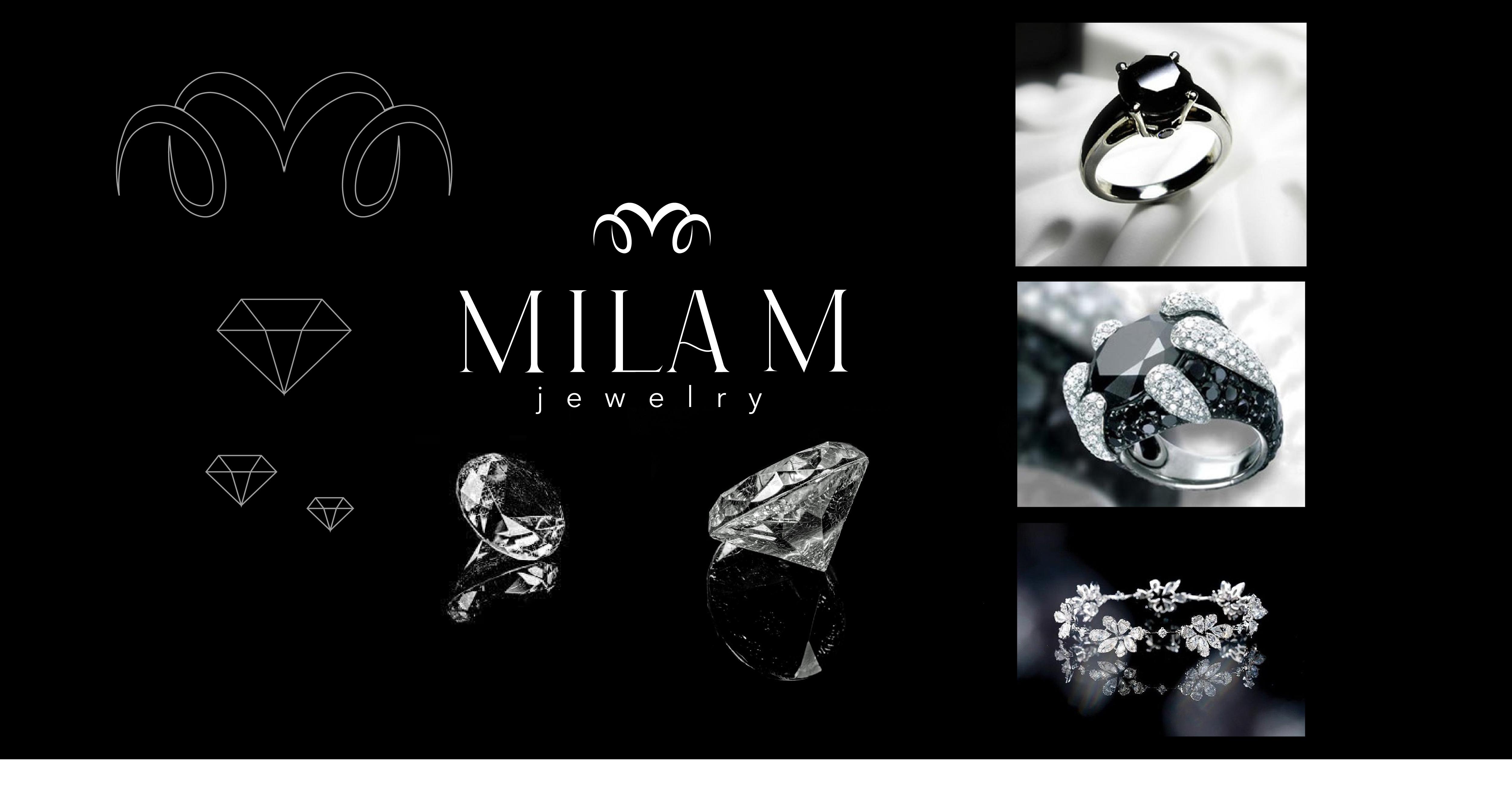 Фото Разработка логотипа для ювелирного бренда Mila M
