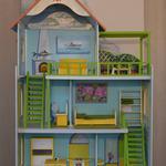 Роблю та збираю будиночки для ляльки барбі