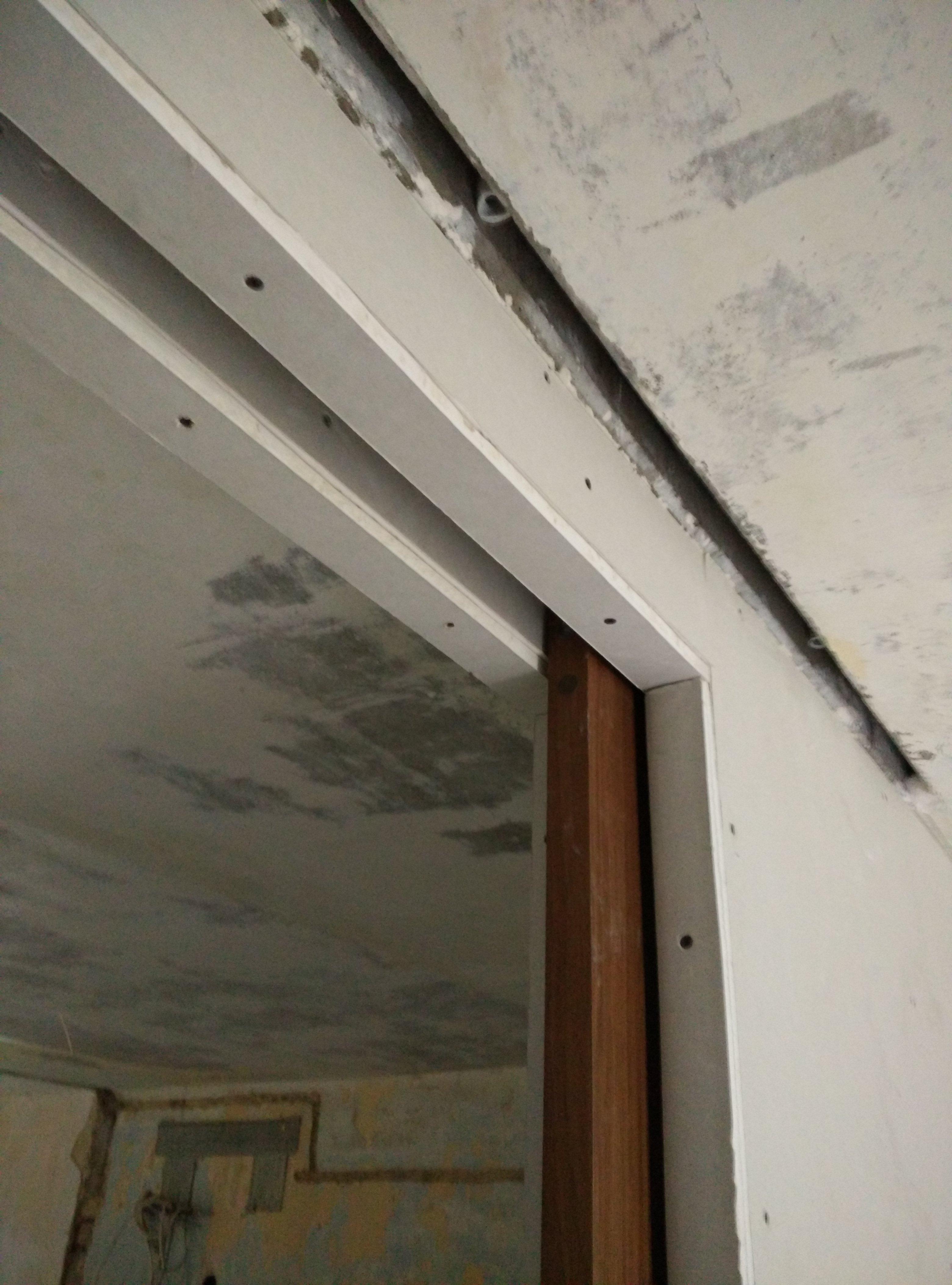 Фото Межкомнатная перегородка с раздвижной дверью