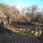 Зрізання обрізання дерева, порізка дров