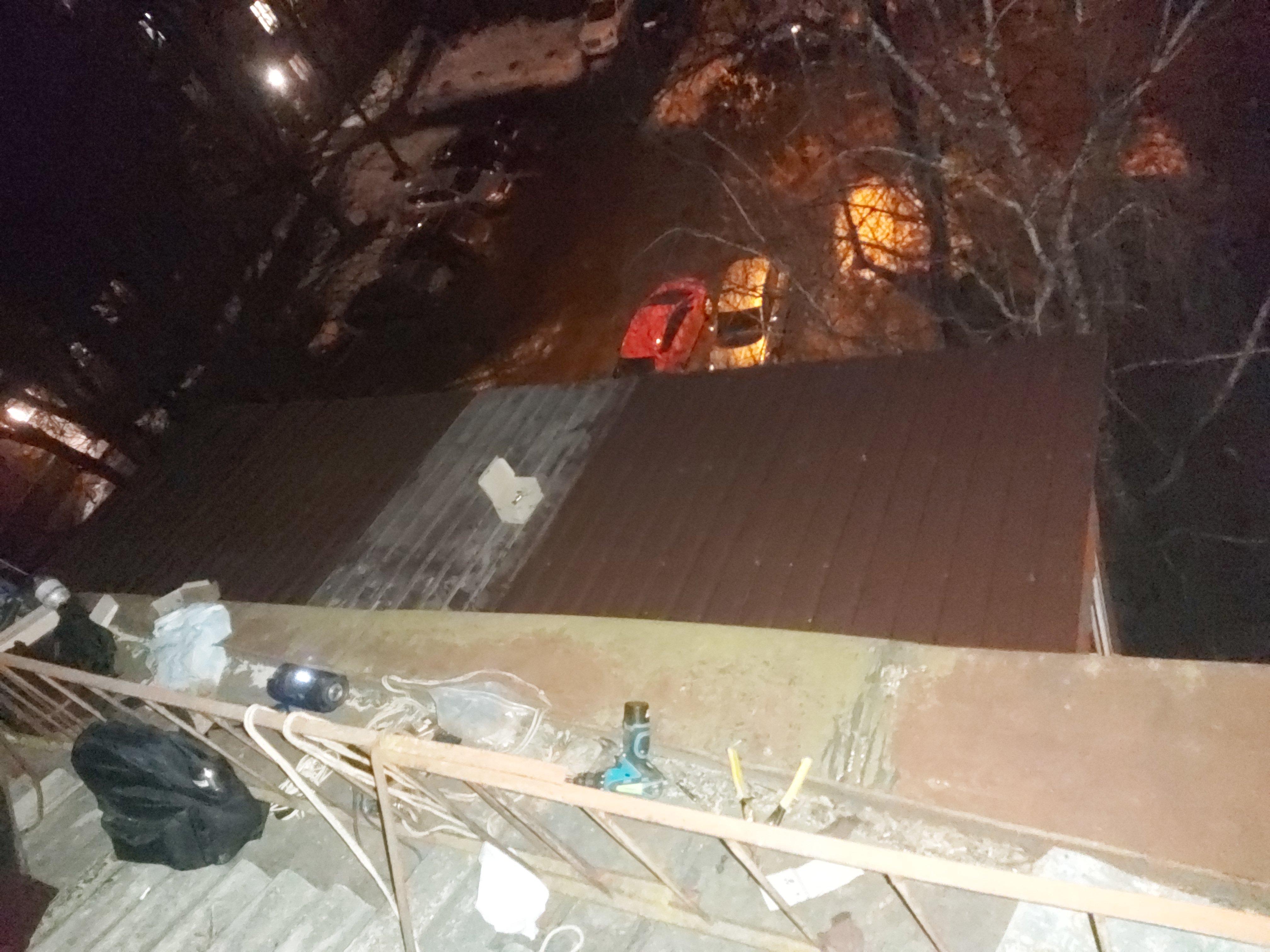 Фото Новая крыша балкона