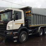 Земельные работы, Самосвал до 30 т Scania - услуги самосвалов