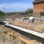 Фундамент, бетонные работы.