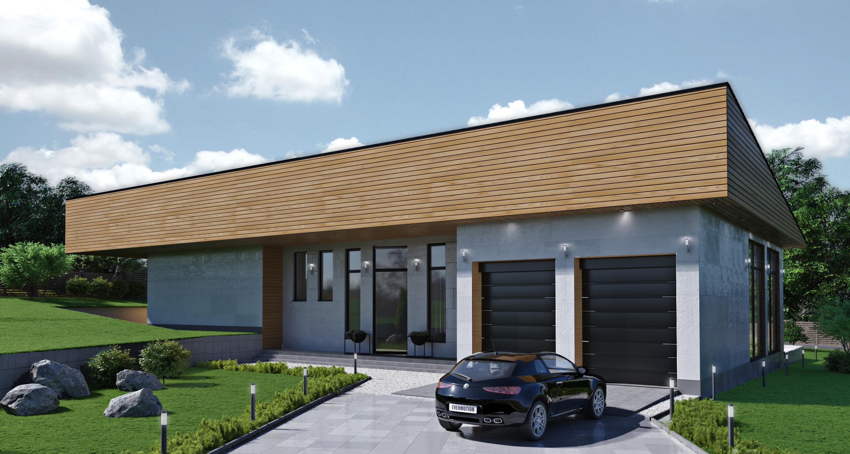 Фото Архитектурное проектирование индивидуального жилого дома. Дизайн экстерьера.
