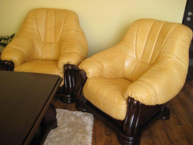 Фото Диван и два кресла Mercedes. Натуральная кожа  2