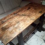 Сборка мебели из отходов древесины