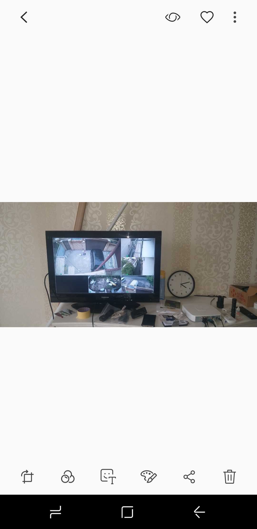 Фото Монтаж системи видеонаблюдения 5 камер , один день
