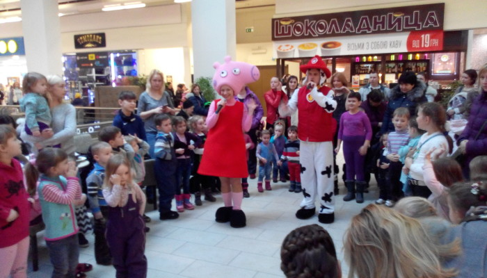 Фото Свинка Пеппа, программа для детского праздника 2