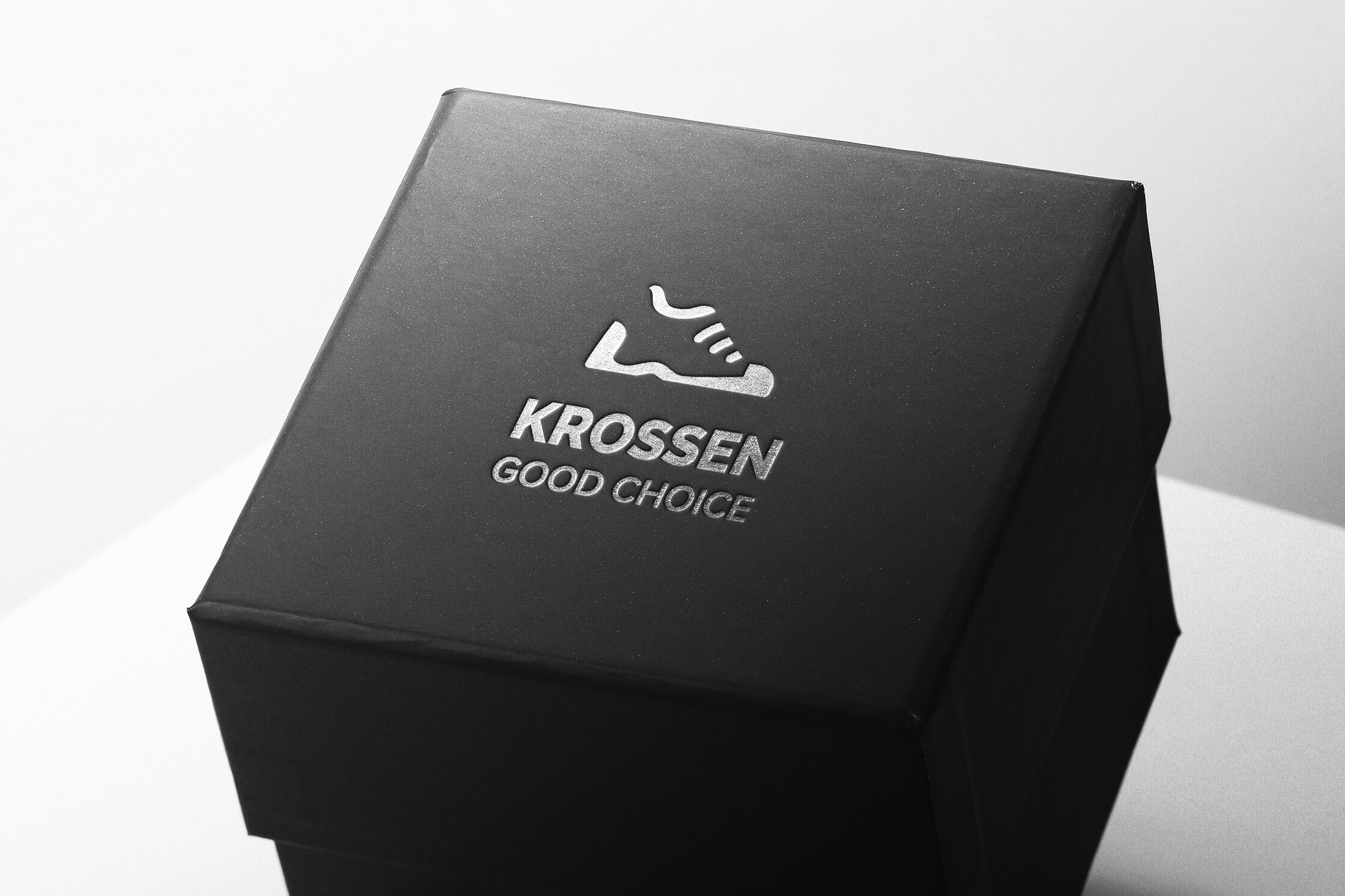 Фото Разработка логотипа для бренда кроссовок KROSSEN Среда разработки: Adobe Illustrator Время работы: 2-3 часа