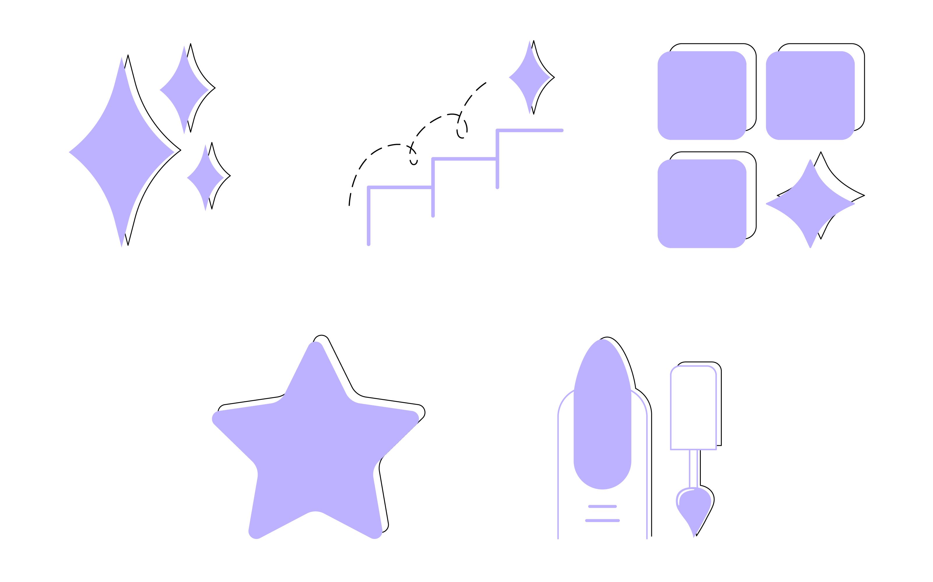 Фото Кнопки для мобильного приложения выполнены в графическом редакторе Adobe Illustrator.