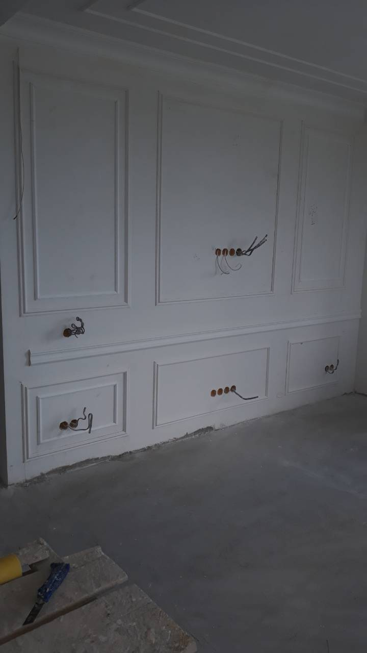 Фото Гипсокартон,шпаклевка ,штукатурка,покраска,,декоративный кирпич,теплый пол,ламинат