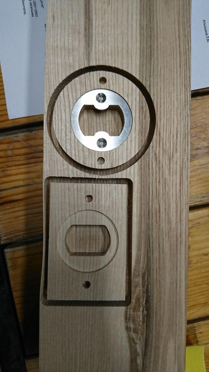 Фото Заготовки из деревянной доски для открывалку разной формы