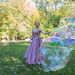 Шоу мыльных пузырей Киев