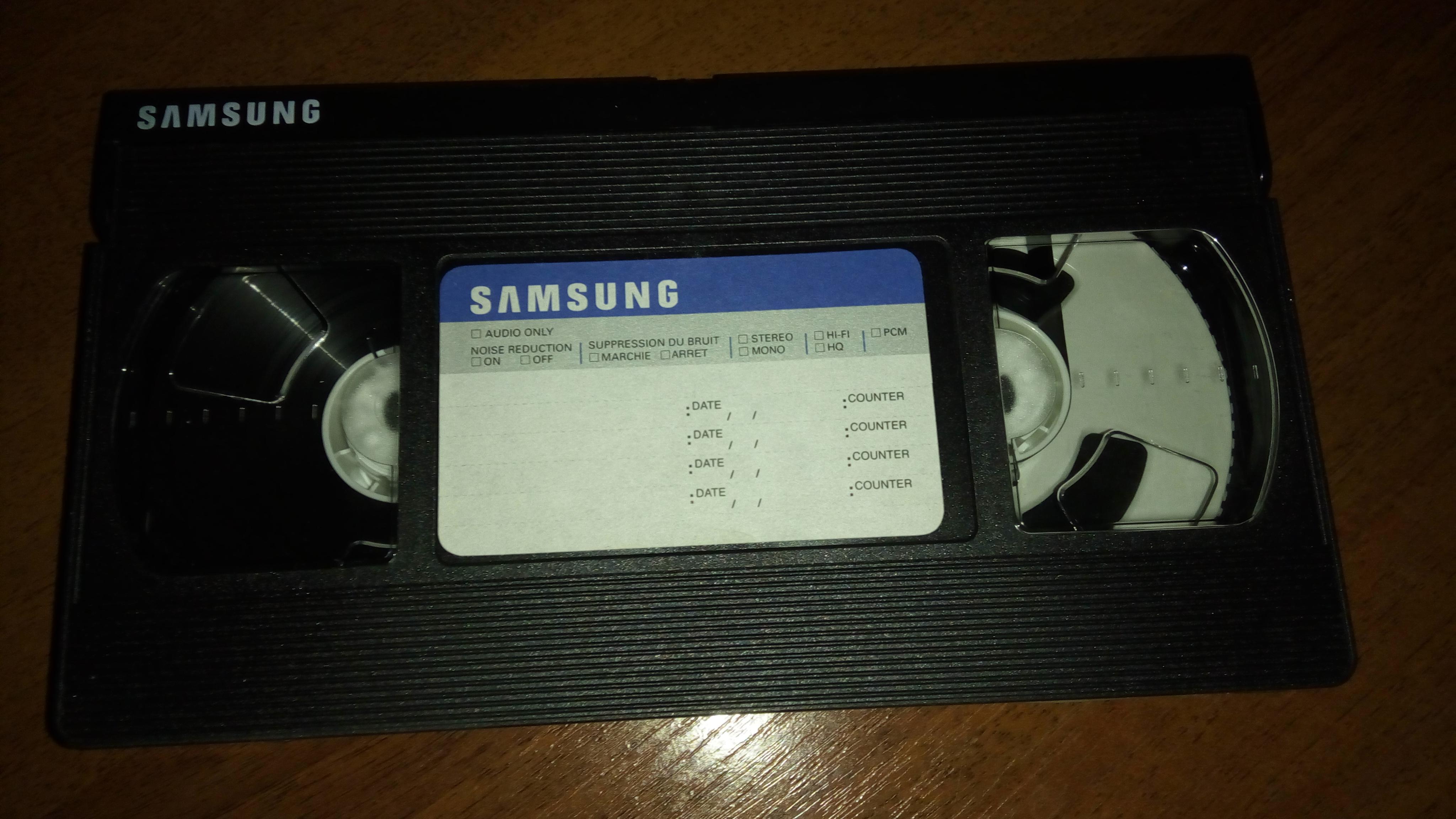 Фото Оцифровка кассеты VHS