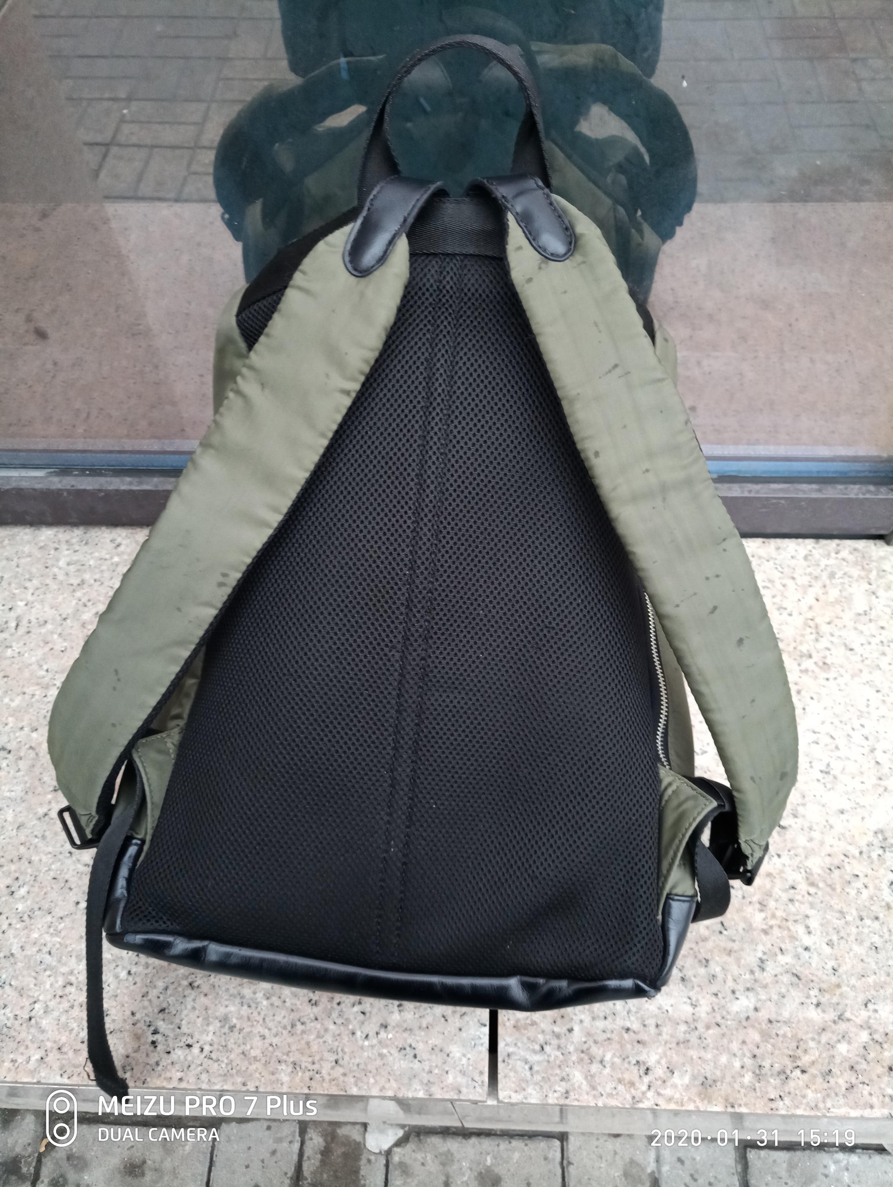 Фото Ремонт шлеек рюкзака.полностью перешиты