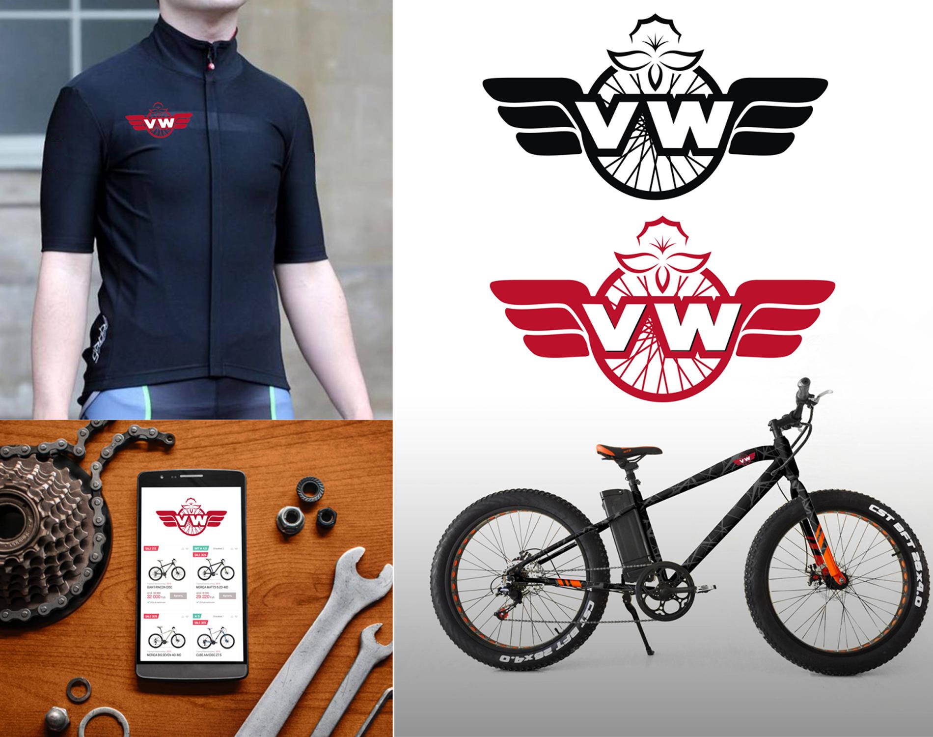 Фото лого и брендирование для австрийской велокомпании