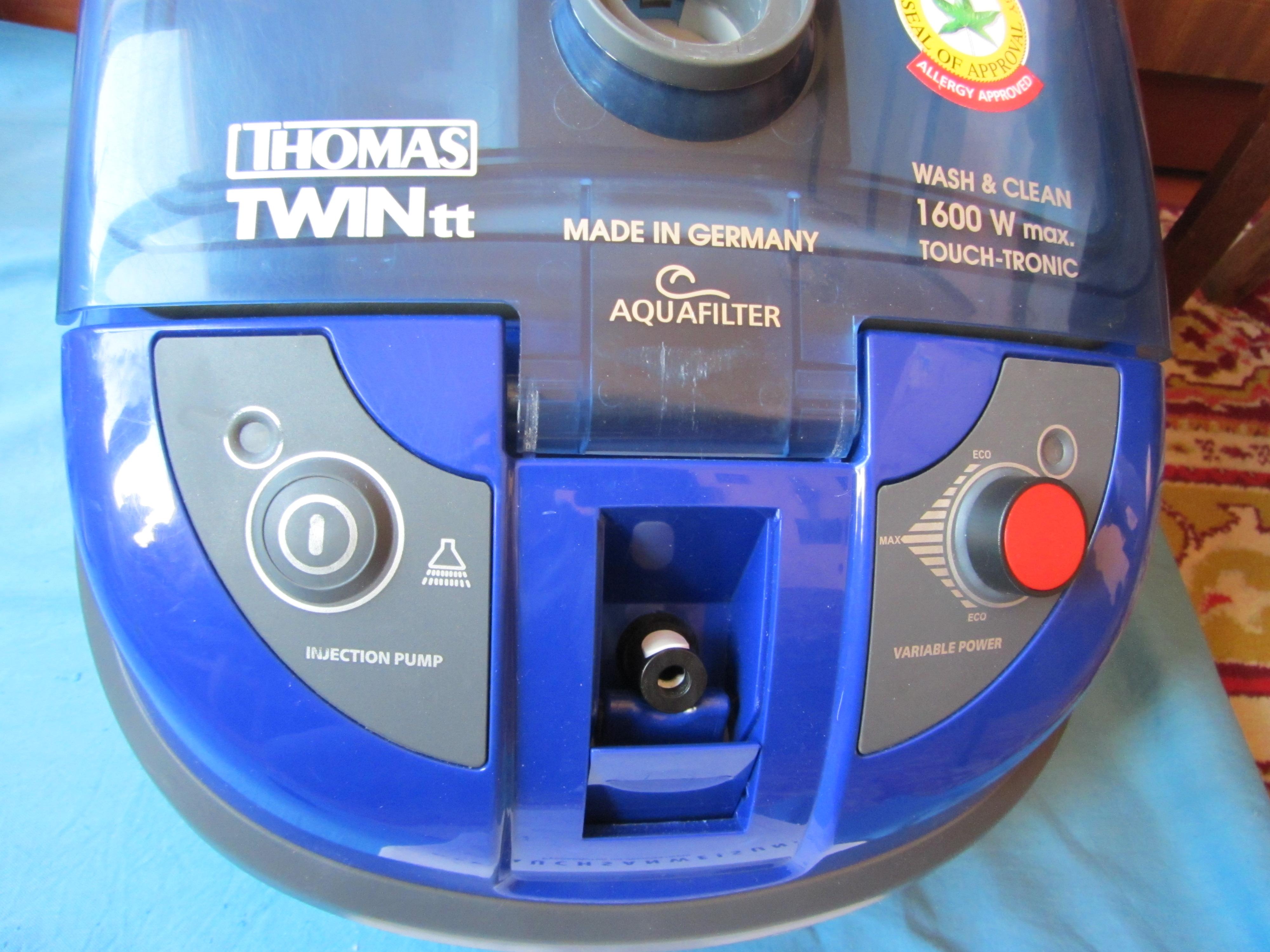 Фото Ремонт (замена) кнопки включения/выключения пылесоса Thomas TWIN tt Aquafilter 2