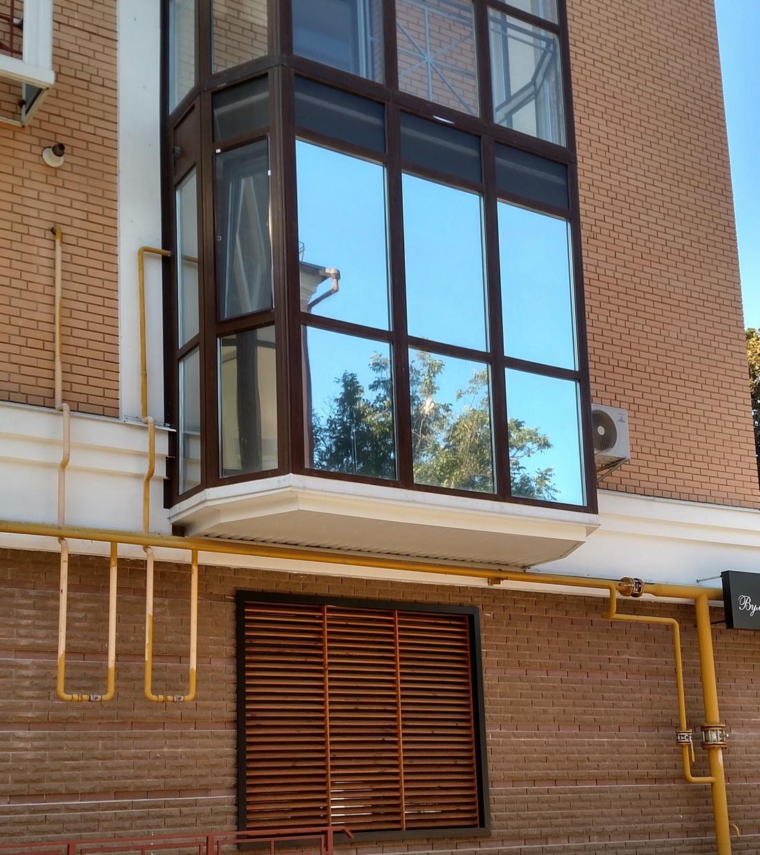 слушатели всегда балконы с зеркальным стеклом фото если