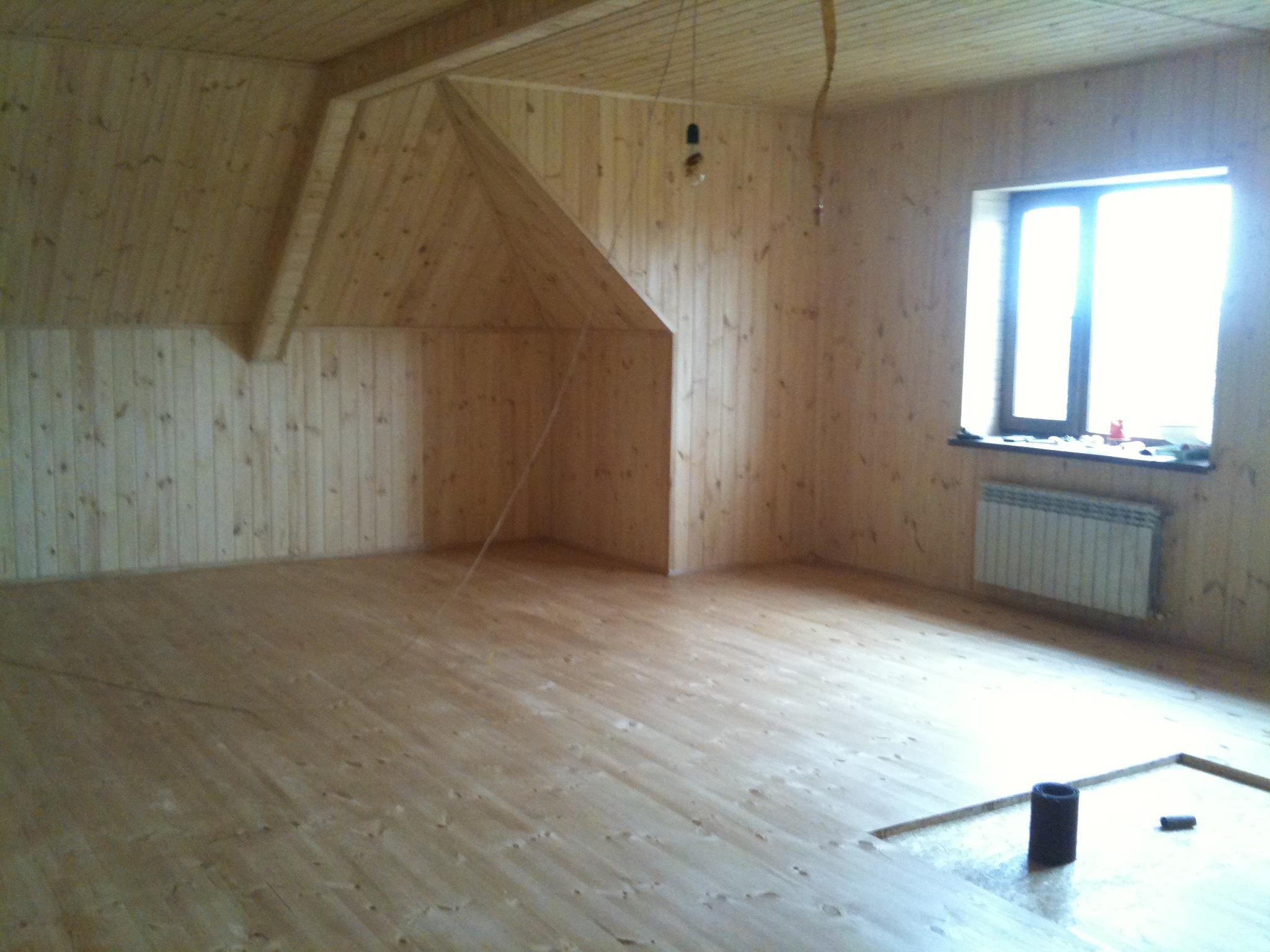 Фото Устройство деревянных полов под лак 2