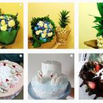 Легкие домашние торты на заказ