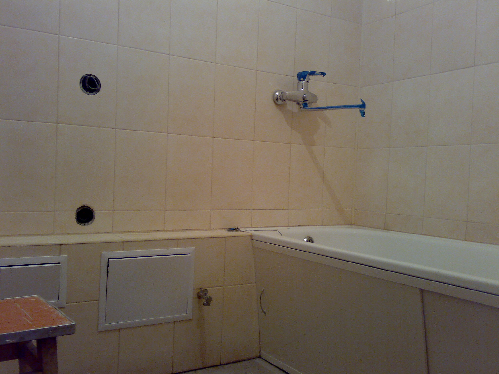Фото ванная под ключ 1 неделя.