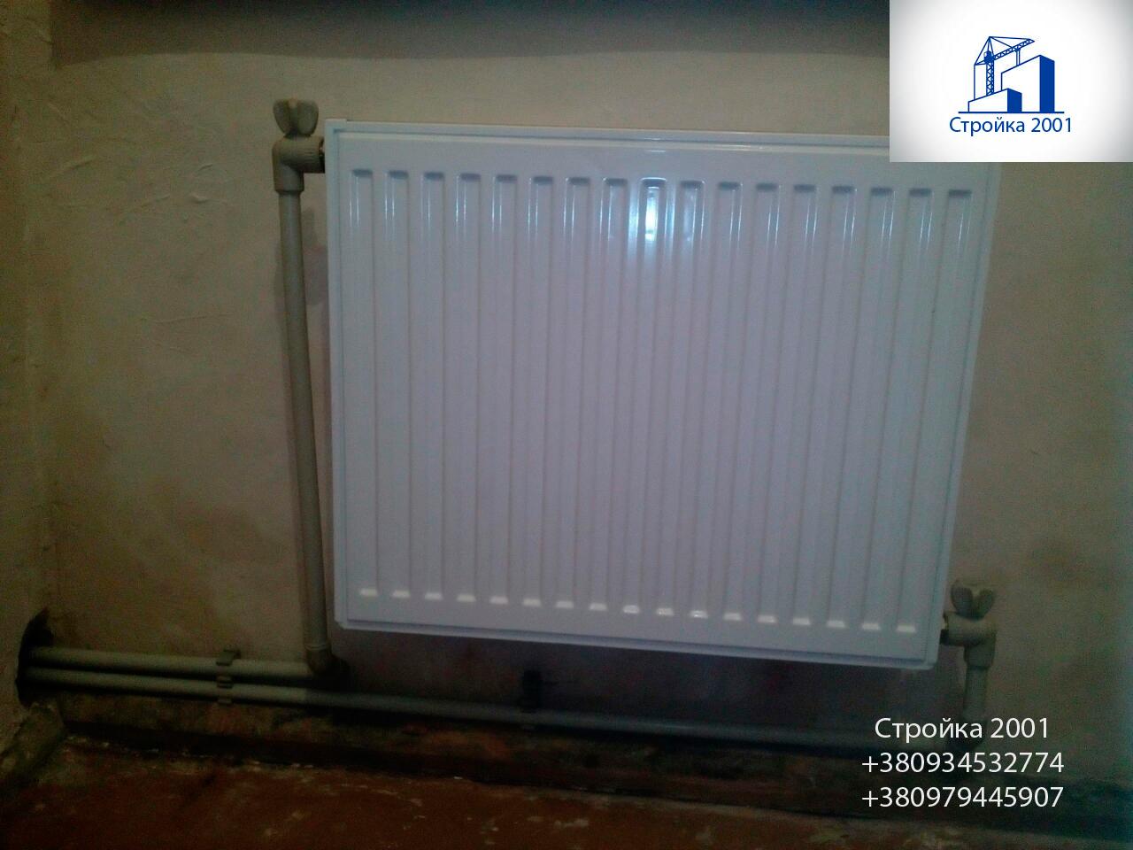 Фото Установка и замена радиаторов отопления любой сложности 4