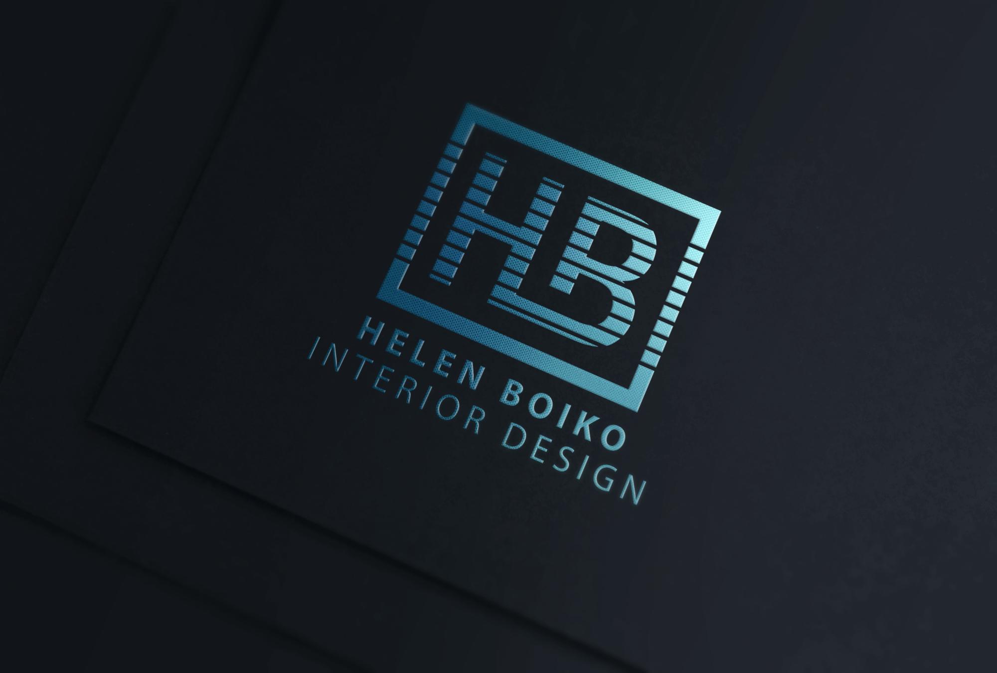 Фото Разработка логотипа для студии дизайна интерьеров.