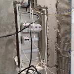 Работы по монтажу и ремонту электропроводки.