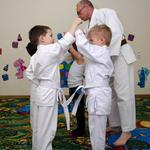 Занятие по карате шотокан и самообороне для детей и взрослых