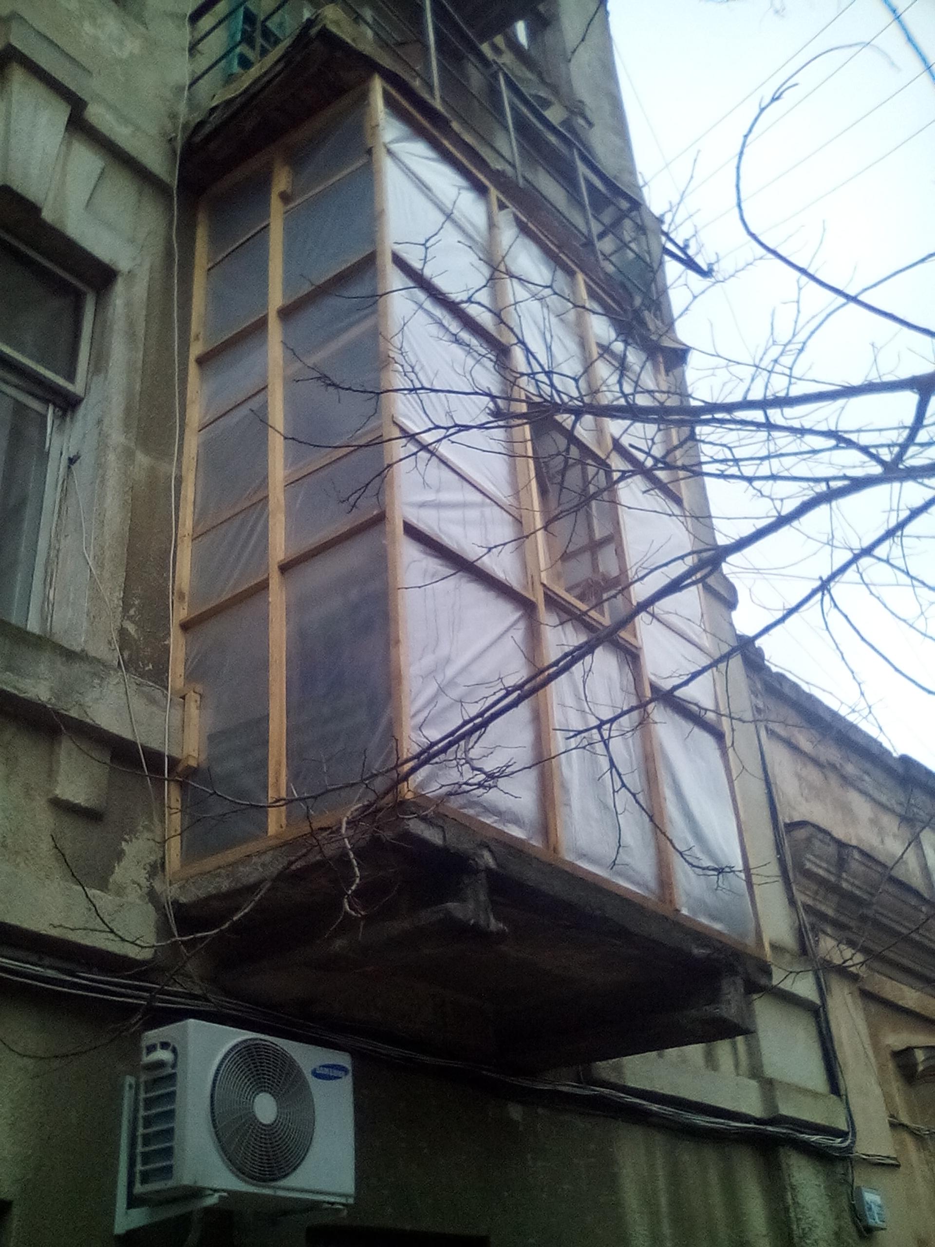 Фото балкон из пленки полдня