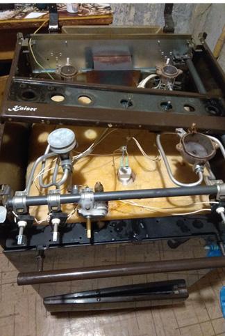 Фото Плита газова Кайзер. Не работает газконтроль духового шкафа. время выполнения 1-1.5 часа
