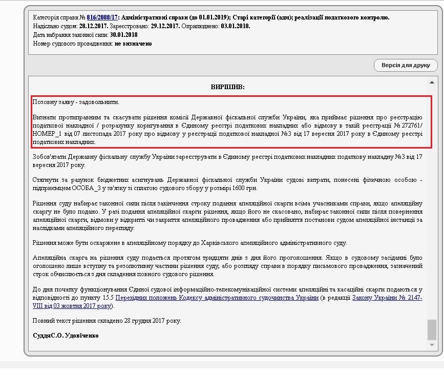 Фото Спори з податковою, держпраці, фондом інвалідів, АМК, інші адмін.справи 1