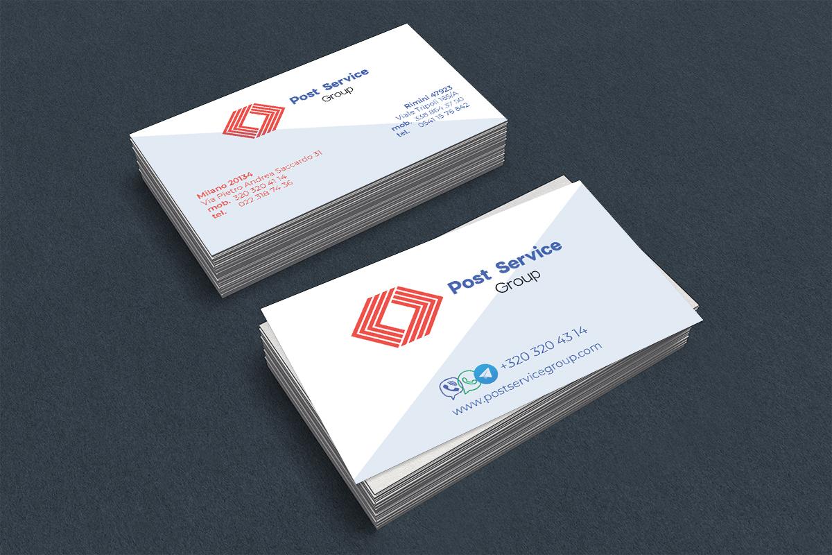 Фото Разработка визитки для компании грузоперевозок по миру