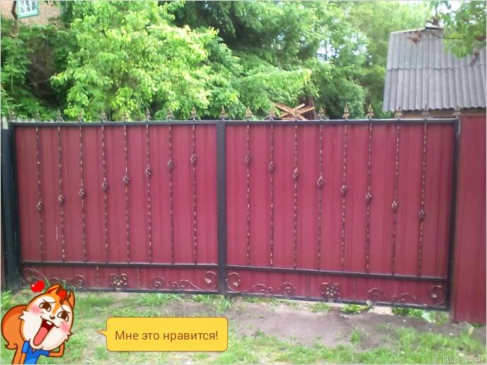 Фото Изготовление и установка кованых ворот, от простых до не простых