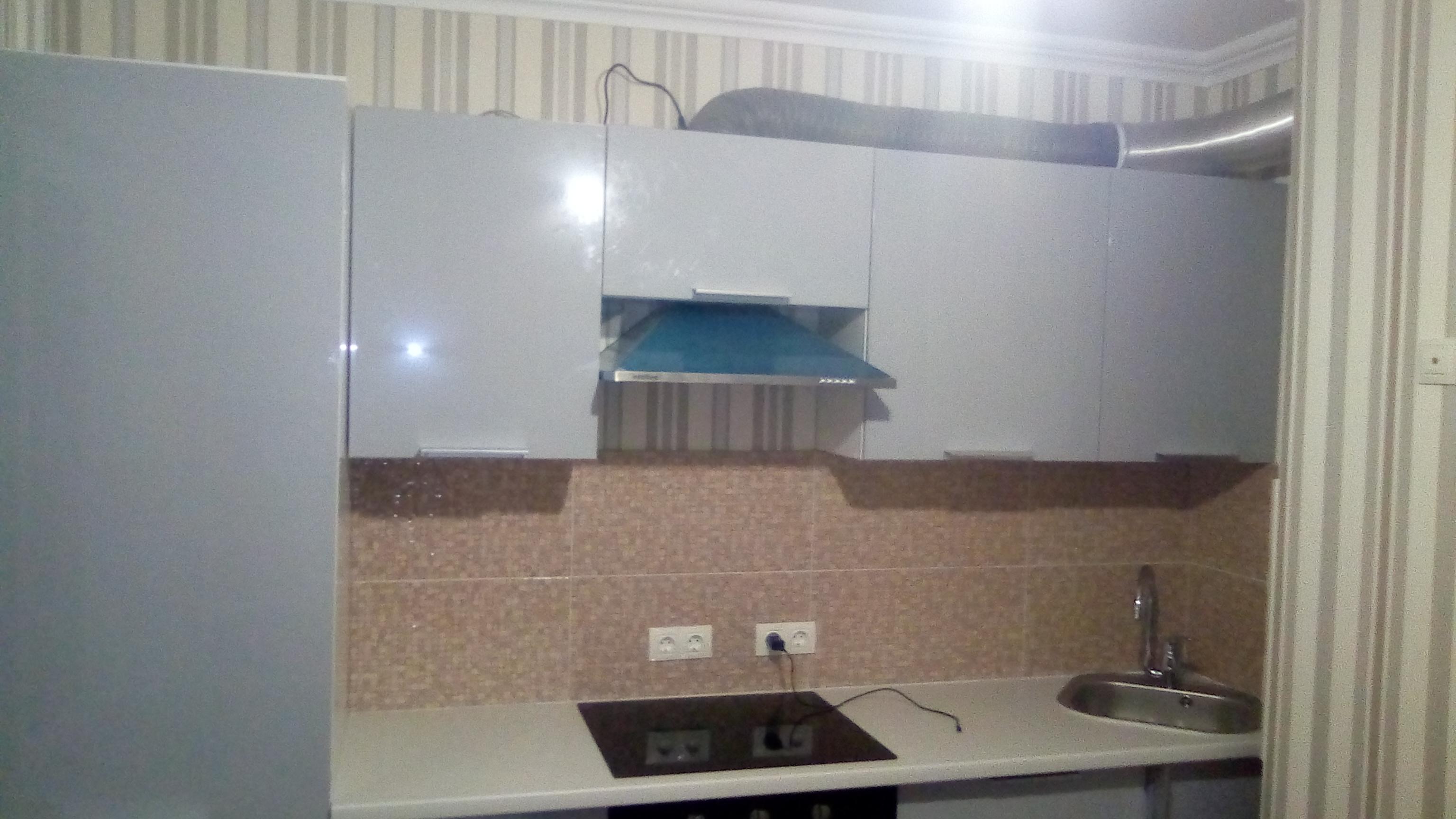 Фото Сборка кухни