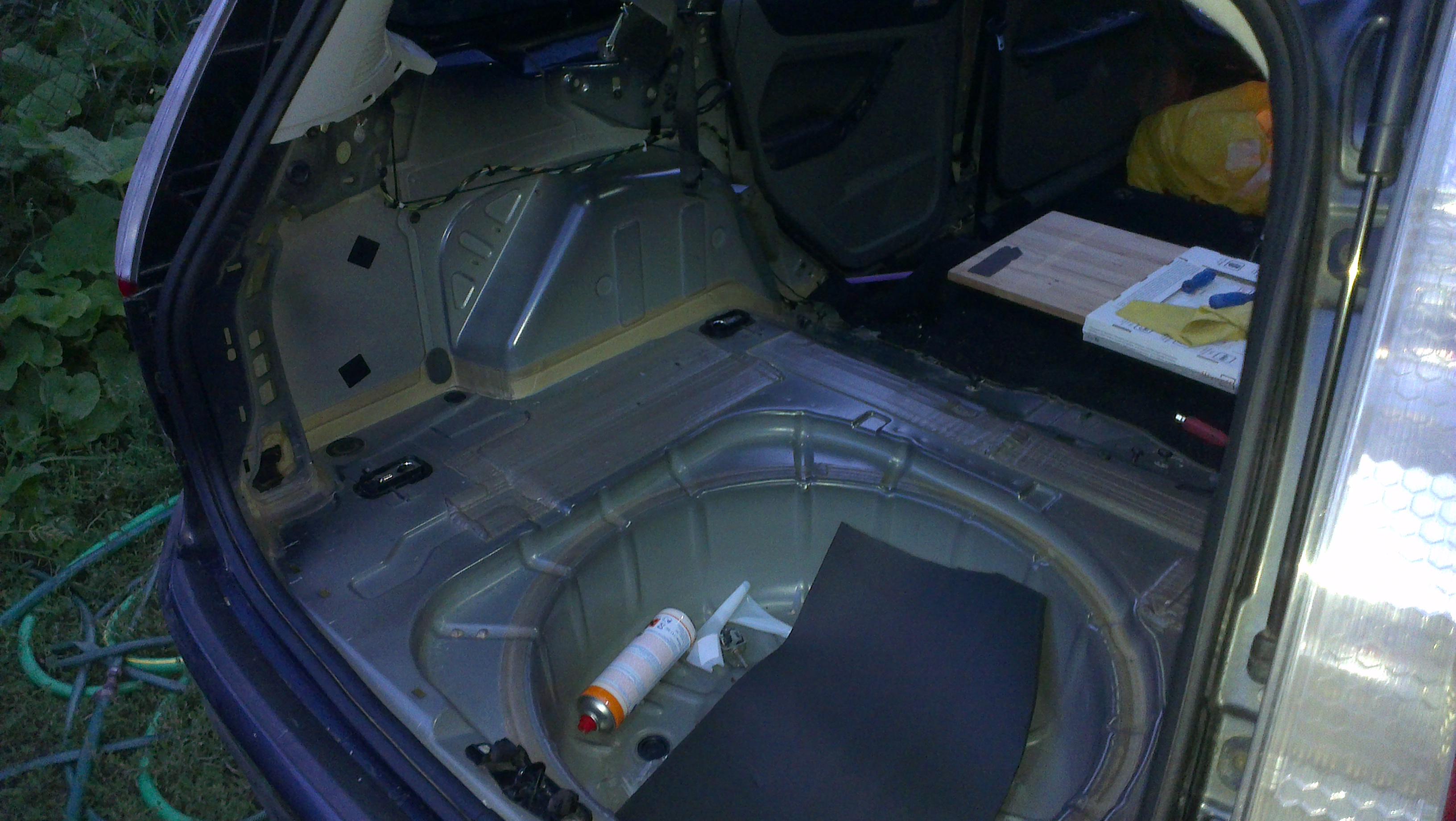 Фото Ford Focus 2:  - Кругова шумовіброізоляція.