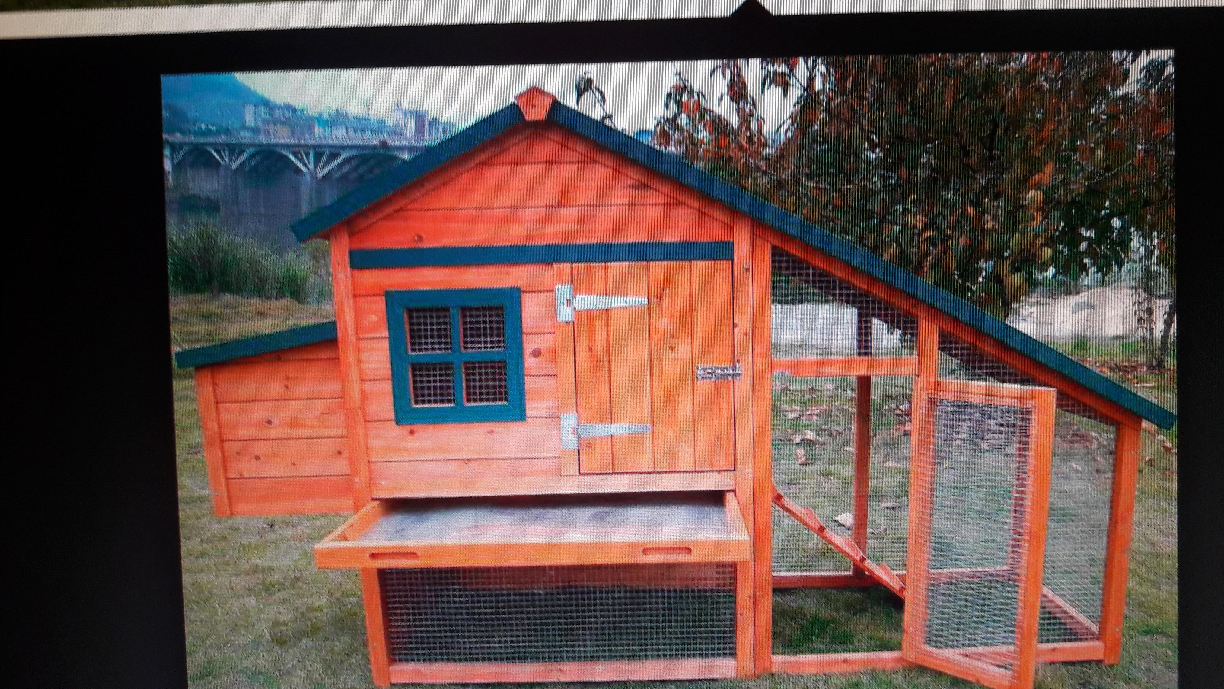 Фото Изготовление и монтаж деревянных модульных курятников малой формы для загородных домов.